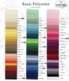 Avaialble Linen Colors