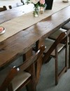 Fruitwood Farm Table